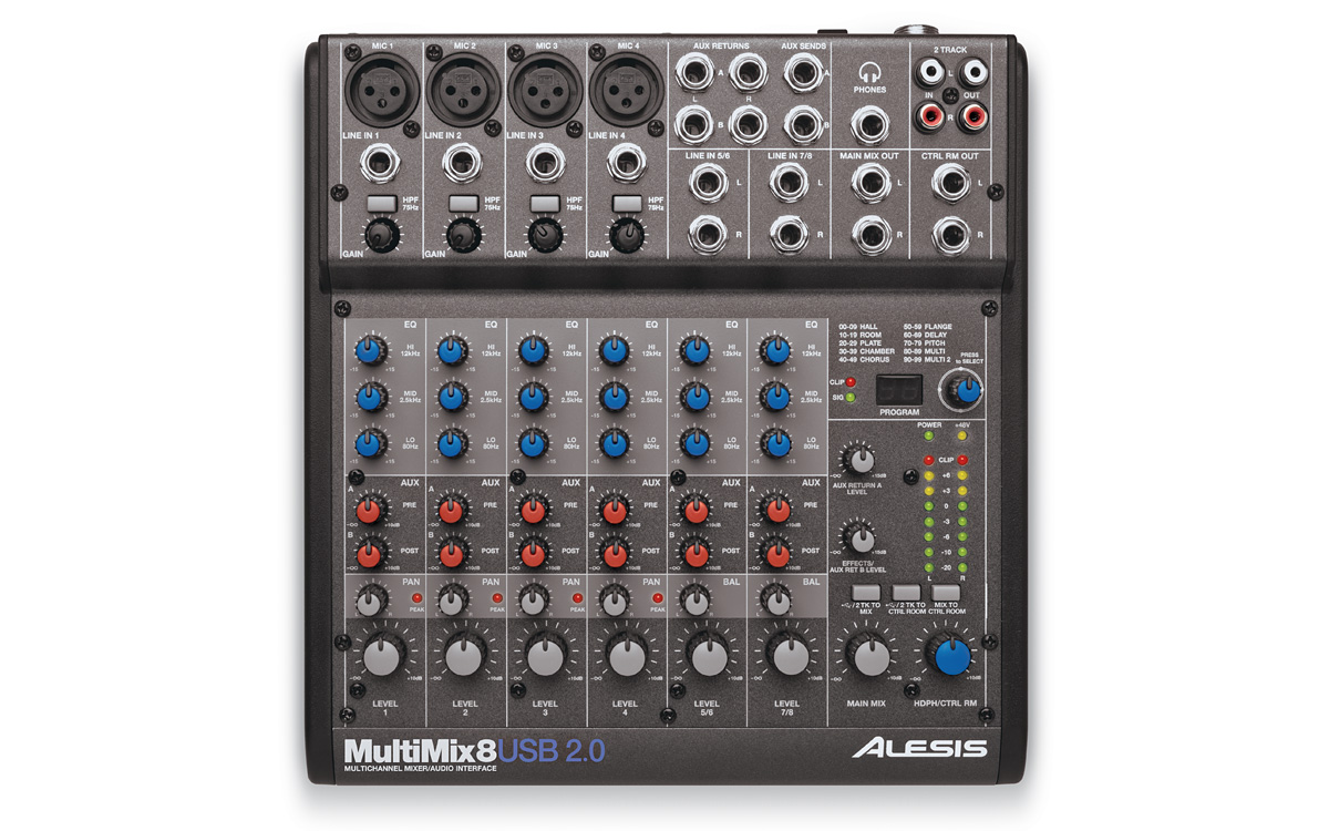 ALESIS MULTIMIX 8 USB ASIO DRIVER FOR MAC DOWNLOAD
