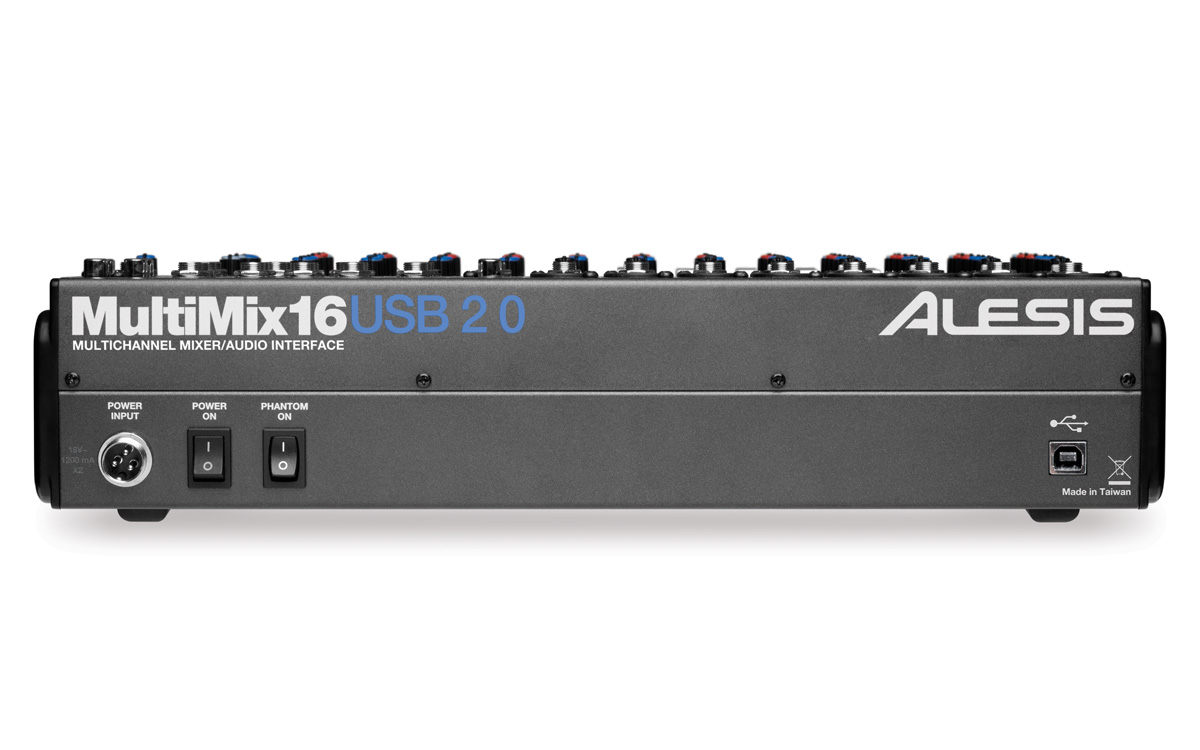 Alesis 16 USB 2.0 Drivers for PC