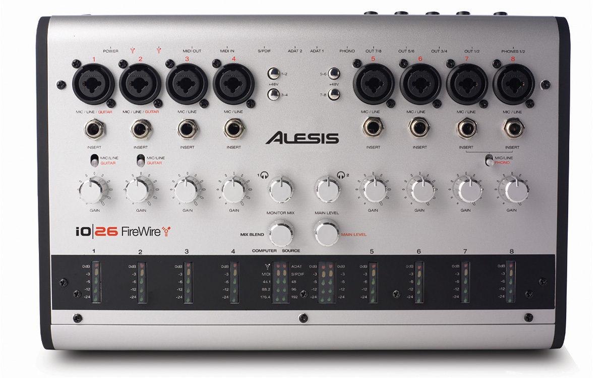 ALESIS FIREWIRE AUDIO DRIVERS FOR WINDOWS DOWNLOAD