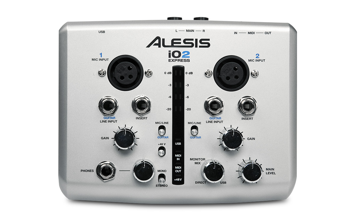 alesis io2 express driver windows 10